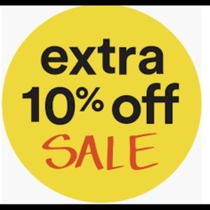Extra 10% off spend more save more. End 12am